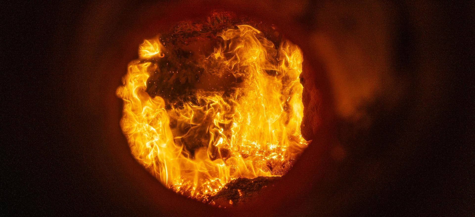 Flammer i ovn