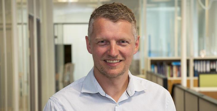 Konstituert konserndirektør for innovasjon og utvikling, Øystein Sæther. Foto: Kjell Løyland.