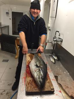 Morten på fisketur